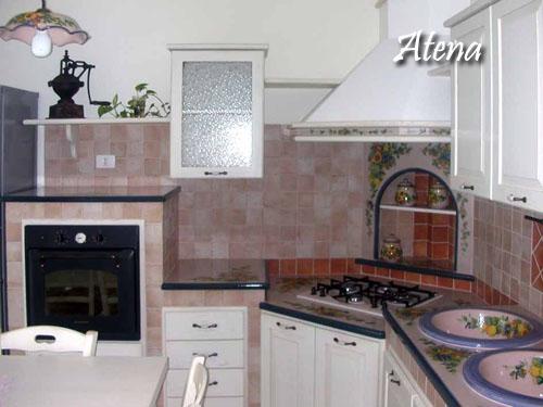 Cucina atena ii decorazione pietra lavica etna ceramizzata le cucine dei sogni costruzione - Cucine in pietra lavica giarre ...