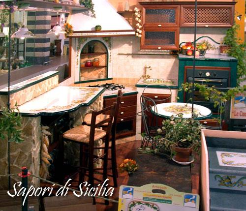 CUCINA SAPORI DI SICILIA PIETRA LAVICA: LE CUCINE DEI SOGNI ...