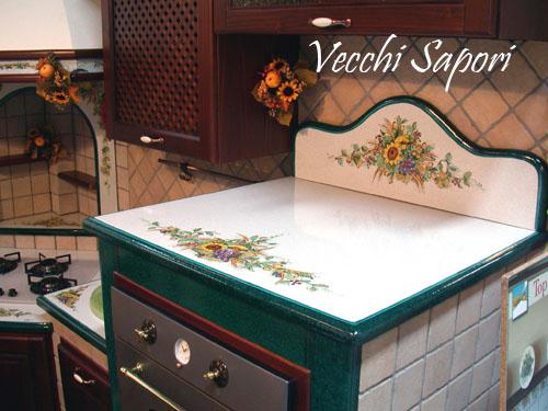 Cucina vecchi sapori decorazione pietra lavica etna for Vecchi piani di casa artigiano