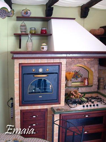 giarre cucine in muratura : PIANO CERAMICA: LE CUCINE DEI SOGNI, COSTRUZIONE, CUCINE IN MURATURA ...