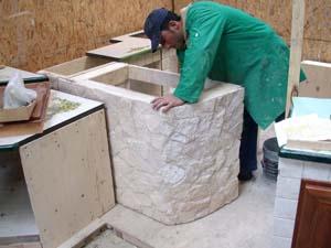 Piastrellatura fabbrica produzione cucine pietra lavica - Piastrelle pietra lavica ...
